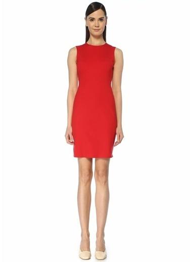 Theory Elbise Kırmızı